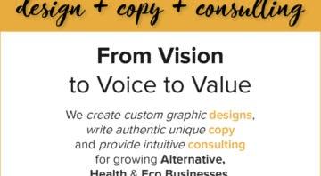 Design + Copy + Consulting