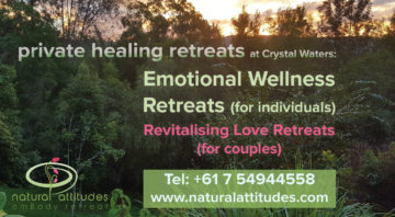 Private Residential Healing Retreats at Crystal Waters